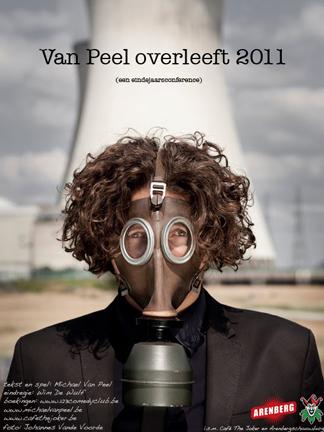 """Poster """"Van Peel overleeft 2011"""""""